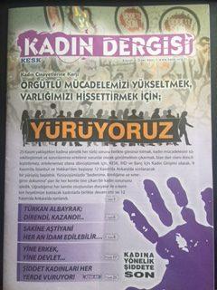 KESK KADIN DERGİSİ (22 KASIM 2010)