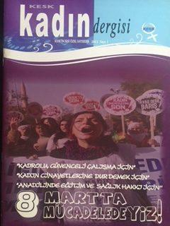 KESK KADIN DERGİSİ (8 MART 2011)