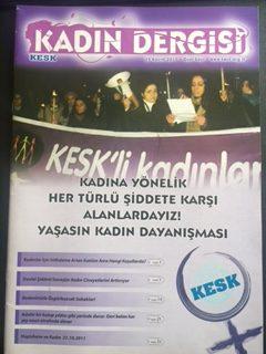 KESK KADIN DERGİSİ (25 KASIM 2011)