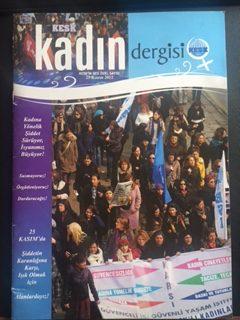 KESK KADIN DERGİSİ (25 KASIM 2012)
