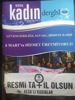 KESK KADIN DERGİSİ (8 MART 2013)