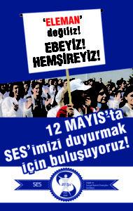"""""""ELEMAN"""" değiliz, EBEYİZ! HEMŞİREYİZ!"""
